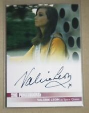 THE PERSUADERS TRADING CARDS VALERIE LEON (VL2) BLACK INK AUTOGRAPH CARD