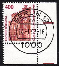 56) Bund SWK 1562 FN 0 400 Pf Eckrand Ecke E4 TST Berlin 12 mit Gummi Typ I