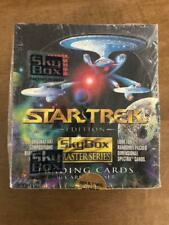 Star Trek Master Series 1 Trading Card  SEALED Box of 36 Booster Packs Skybox