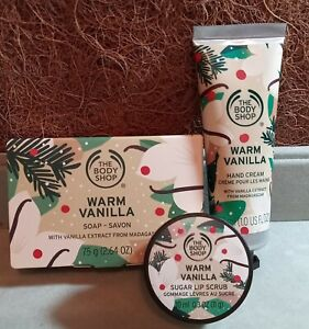 The Body Shop•Small Warm Vanilla Pack