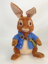 "2014 Cartwheel Kids Peter Rabbit 16"" Bunny w/ Blue Jacket Plush Stuffed Toy"