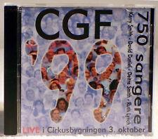 CGF '99 - 750 Sangere - LIVE! Cirkusbygningen Gospel Festival (CD, 1999 Nob)