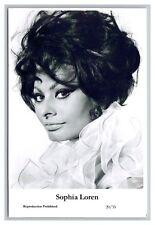 Sophia Loren (C) Swiftsure Postcard year 2000 modern print 20/35 glamour photo