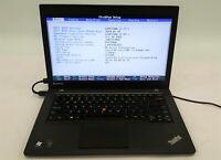 "Lenovo ThinkPad T440 Laptop Computer i5 4th Gen. 180GB SSD 8GB 14"" No OS/AC ***"