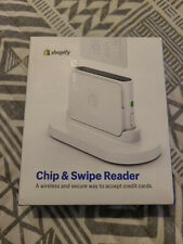 New Shopify Chip and Swipe Wireless Credit Card Reader, Machine Model S1701