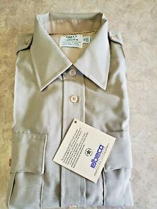 Women's ~ELBECO Duty Plus Tan Uniform Short Sleeve Shirt~ Size 40 - Brand NEW