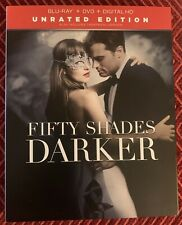 Fifty Shades Darker Blu-Ray Triple Play US Import Inc Theatrical Version 2 Disc