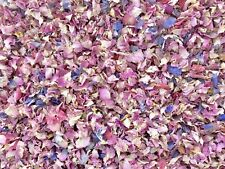25 Guests x Biodegradable Wedding Confetti Pink Rose Mix Petals Dried Flowers