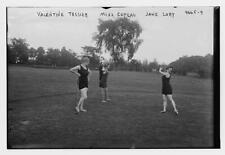 Valentine Tessier,Miss Copeau,Jane Lory,women,golfing,sports,outdoor activ 3826