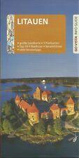 Reiseführer Litauen Vilnius m großer Landkarte + Info Guide 96 S. Ausg 2018/2019