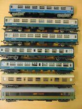 MODEL RAILWAY 00 GAUGE LIMA HORNBY MAINLINE LOT OF INTER CITY COACHES x 7 TRAINS