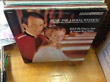BBC Radio Music for a Royal Wedding vinyl LP EX 1973 Princess Ann Mark Phillips