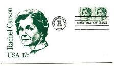 1857 Rachel Carson Andrews,  FDC