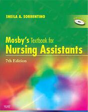Libro de texto para auxiliares de Enfermería Mosby's By Sheila A. Sorrentino, Leighann..
