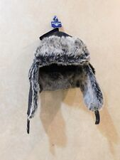 Dockers Mens Plaid Trapper Hat with Faux Fur Lining c3a669dd9543