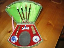 Collectible Chinese Calligraphy kit with seal & Wax