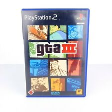? GTA 3 - Grand Theft Auto 3 - PS2 - Disc + OVP ?? Playstation 2 Game
