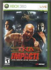 TNA IMPACT! TOTAL NONSTOP ACTION WRESTLING XBOX 360 GAME Xbox360 impact
