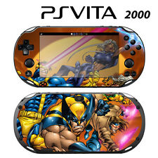 Vinyl Decal Skin Sticker for Sony PS Vita Slim 2000 X-Men Comics Wolverine