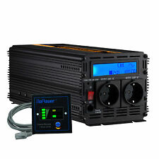 Convertitore 2000W 4000W DC 24V to AC 220V 230V Power Inverter LCD Display