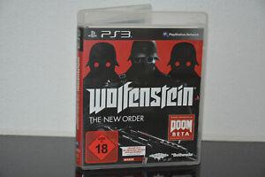 PS3 Spiel - Wolfenstein - The New Order - USK 18 - TOP Spiel