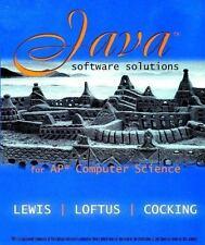 Java Software Solutions for Ap Computer Science, Loftus, William, Cocking, Cara,