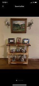Rustic Cedar Bookshelf