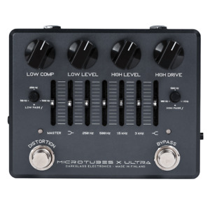 Used Darkglass Microtubes X Ultra Multiband Distortion Guitar Effects Pedal!