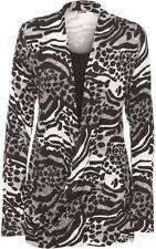 Long Sleeve Machine Washable Geometric Plus Size Tops & Blouses for Women