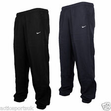 Nike Mens Woven Gym Running Tracksuit Bottoms Jogging Pants Black Navy Black XL