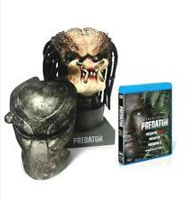 Predator 3D Ultimate Hunting Trophy Head lifesize Bust very rare oop blu ray