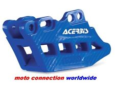 NEW ACERBIS BLUE REAR CHAIN GUIDE BLOCK WITH CARBON EFFECT FOR YAMAHA YZ125 2008