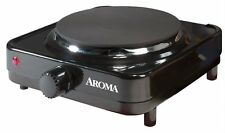 Aroma Single Hot Plate AHP-303, Black, New, Free Shipping