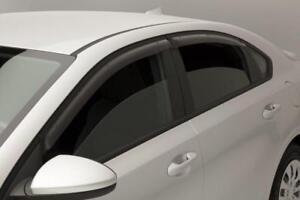 2019 2020 Kia Forte 4Dr Sedan SIDE WINDOW VENT VISORS RAIN GUARDS Visor 4PC Set