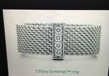 Tiffany & Co Somerset Ring Taille 56/7.5 us/P UK-RRP £ 775 -