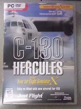 C-130 HERCULES PC DVD EXPANSION FOR MICROSOFT FLIGHT SIMULATOR X AND FS2004
