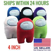 Among Us Plush Soft Toy Stuffed Plushie Game Impostor Doll Gift 11cm⚡FAST SHIP⚡