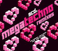 CD Mega Techno Remixes von Various Artists 3CDs