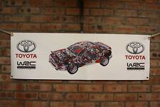 Toyota Celica GT4 ST185 wrc castrol large pvc  WORK SHOP BANNER garage