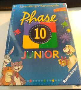Phase 10 Junior Neu und noch in Folie OVP Kartenspiel Ravensburger