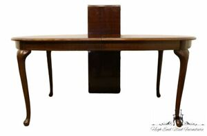 """THOMASVILLE FURNITURE Winston Court Solid Cherry Traditional Style 84"""" Oval D..."""
