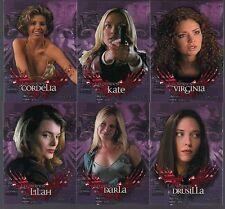 """BUFFY'S ANGEL SEASON 2 IW 2002 """"L.A. WOMEN"""" COMPLETE 6 CARD CHASE SET #LA1-LA6"""