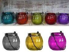 Glass Contemporary Tabletop Candle & Tea Light Lanterns