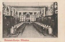 Studentika 1905 Aenania München Couleurkarte Cartellverband Studentika Kneipe CV