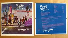 RUBEN And The JETS Con Safos 1974 US Unused LP Cover Slicks CAL SCHENKEL Zappa