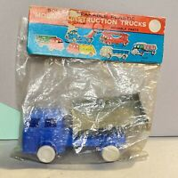 "Vintage Success WHC Model Construction Trucks ""truck"" Sealed In Bag! Seaside Toy"