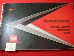 1993 GEN. MOTORS GMC TRUCK SAFARI MODELS ELECTRICAL DIAGRAMS & DIAGNOSIS MANUAL
