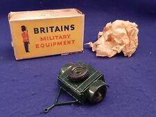 Vintage W Britains Military Equipment Regulation Limber No. 1726 in Original Box