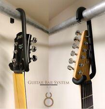 10 Guitar Bar Hangers Closet Rod / Display  Electric - Acoustic - 4 String Base