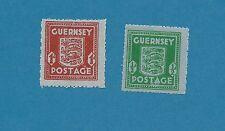Kanalinseln Guernsey Nr.  4-5  komplett  **   !!